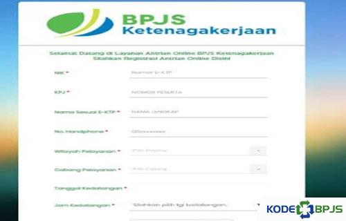 Cara Daftar Antrian BPJS Ketenagakerjaan secara Online