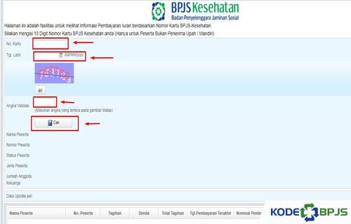 Cara Mengatas Lupa Nomor BPJS via Website Resmi