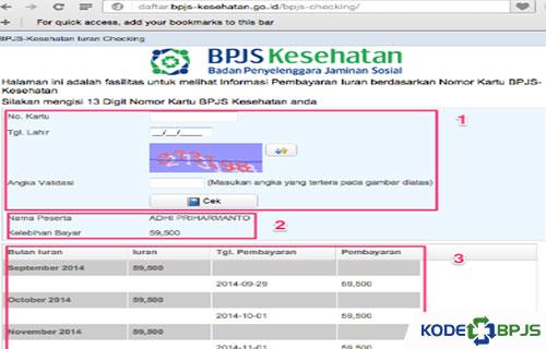 Cara Mudah Mengecek Iuran BPJS Secara Online