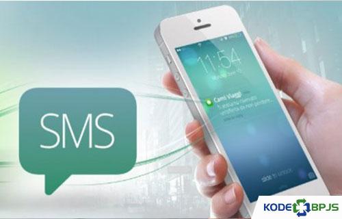 Melalui Layanan SMS Gateway