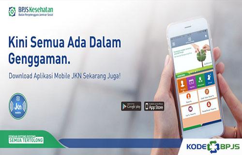 Melalui aplikasi Mobile JKN