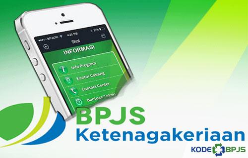 kodebpjs.jpgLayanan Aplikasi BPJS Ketenagakerjaan Mobile