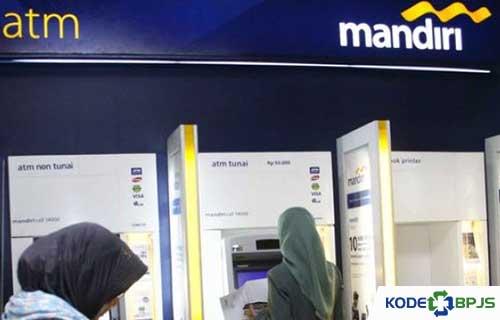 Cara Bayar BPJS Lewat ATM Mandiri