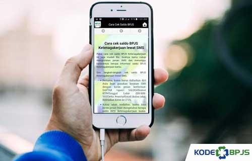 Cara Cek Saldo BPJS Ketenagakerjaan Lewat SMS