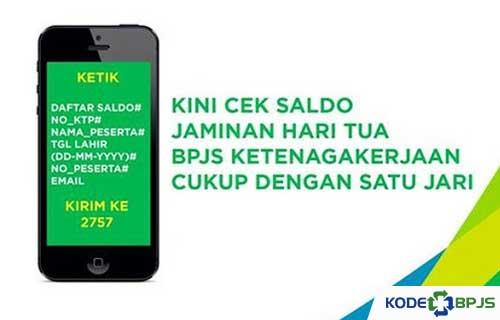 Cek Saldo BPJS via SMS 2757