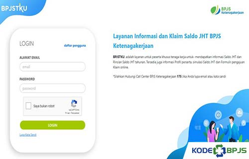 Cek Saldo Lewat Website