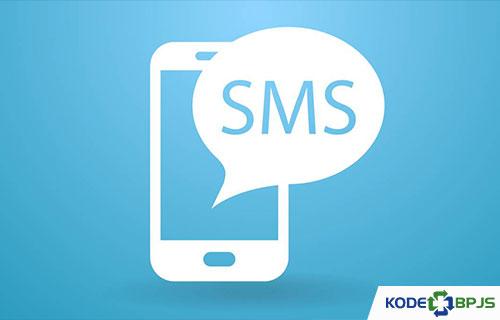 Lewat SMS
