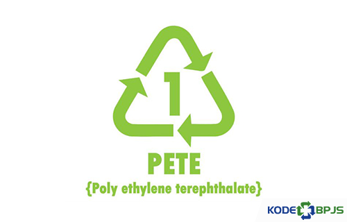 PETE atau PET Polyethylene Terephthalate