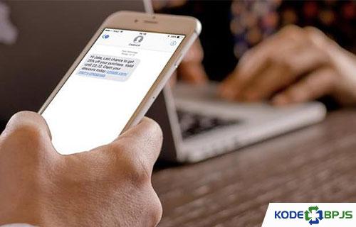 Cara Mengecek Iuran Lewat SMS