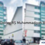 Jadwal Dokter RS Muhammadiyah Bandung