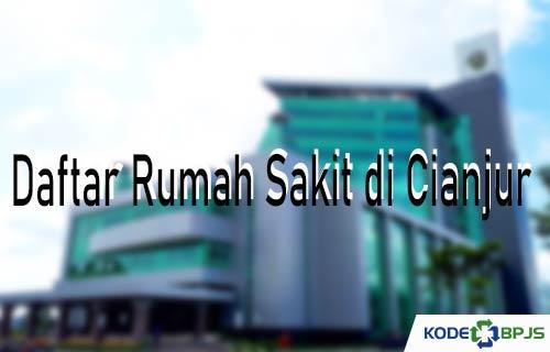 Daftar Rumah Sakit di Cianjur