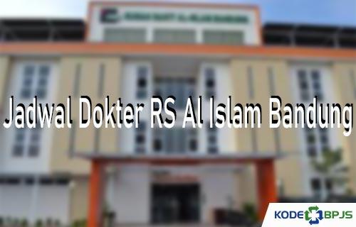 Jadwal Dokter RS Al Islam Bandung