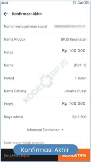 6. Konfirmasi Pembayaran