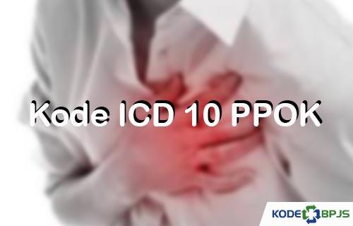 Kode ICD 10 PPOK