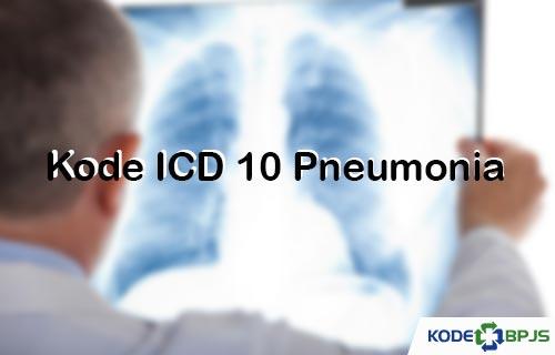 Kode ICD 10 Pneumonia