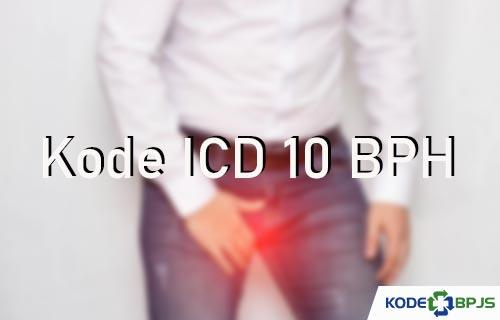 Kode ICD 10 BPH