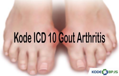 Kode ICD 10 Gout Arthritis