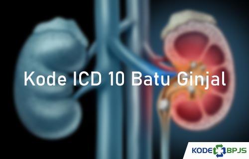 Kode ICD 10 Batu Ginjal