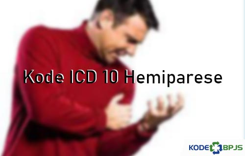 Kode ICD 10 Hemiparese