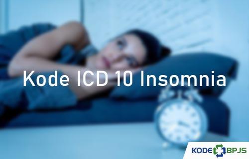 Kode ICD 10 Insomnia