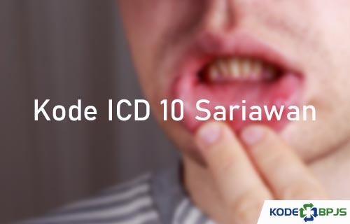 Kode ICD 10 Sariawan