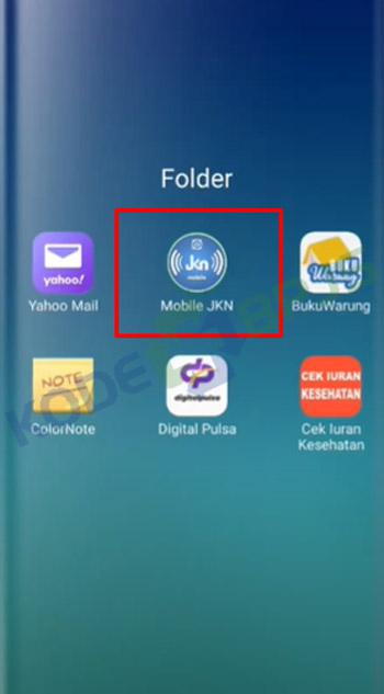 1. Buka Aplikasi JKN Mobile