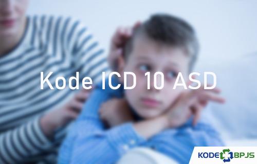 Kode ICD 10 ASD