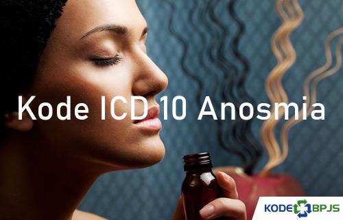 Kode ICD 10 Anosmia