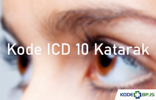 Kode ICD 10 Katarak