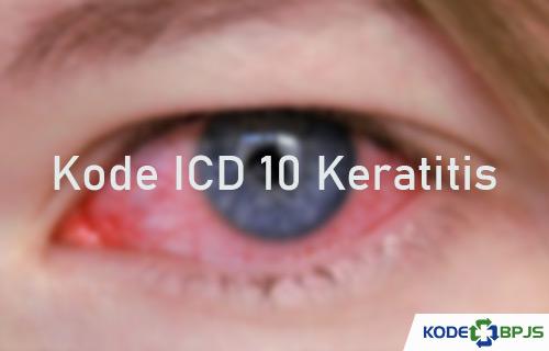 Kode ICD 10 Keratitis