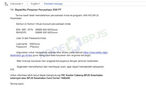 5. Tunggu Email dari BPJS Kesehatan