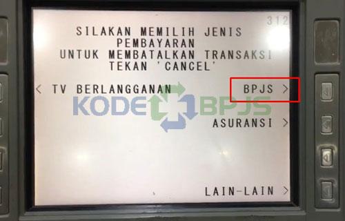 7. Pilih Menu BPJS