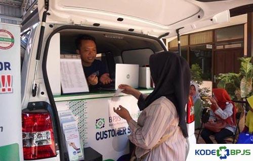 Pelayanan Mobil BPJS Keliling Kota Jambi