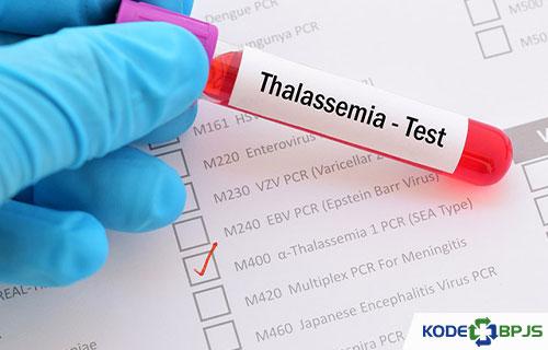 Kode ICD 10 Thalassemia