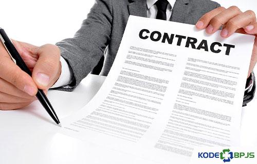 Kontrak PTT BPJS Kesehatan